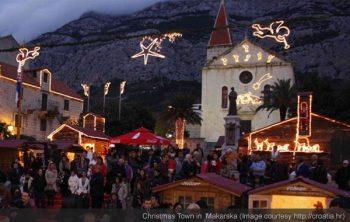 Makarska Is a Christmas Town
