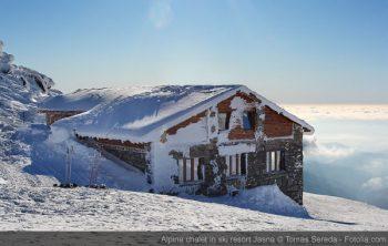 Alpine chalet in ski resort Jasna