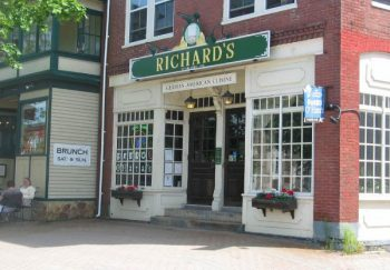 Richard's Restaurant in Brunswick.