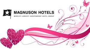 Magnuson Hotels Valentine's giveaways.