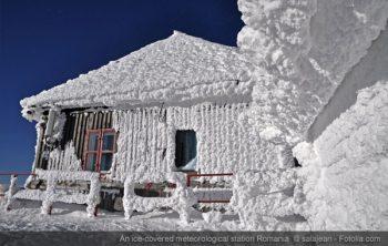 romania snow