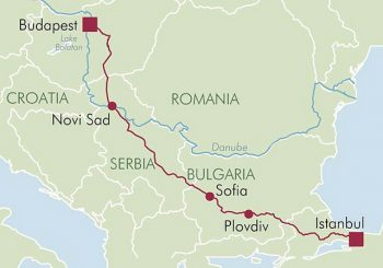 Danube Express itineraries