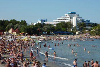 Beach in Romania