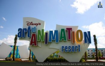 Disney's Art of Animation Resort is due to open on May 31st this year.