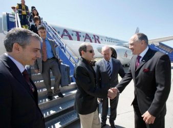 Qatar Airways boss lands in Zagreb