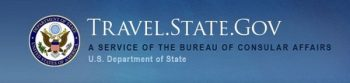 US Government travel site