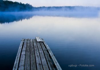 A lake in Finland.