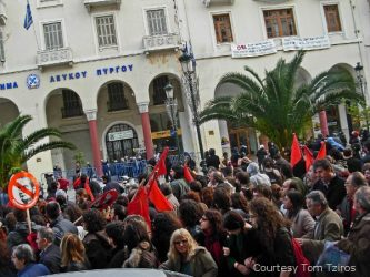 Greece demonstrations