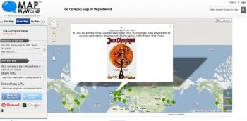 The Olympics Saga By Mapsofworld