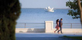 Along the Boulevard in Baku