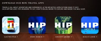 Hip Hotels mini apps