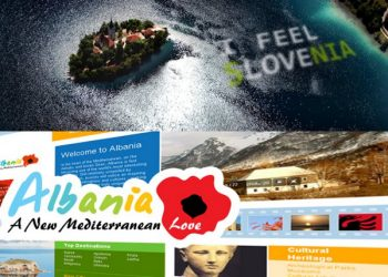 Mashup of Slovenian and Albania tourism initiatives