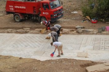 The Gazipaşa mosaic uncovered