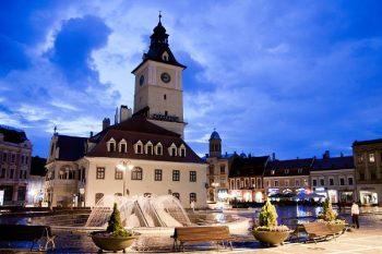 Brașov town center