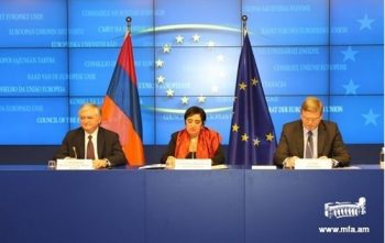 EU-Armenia cooperation council meeting and the signing of the visa facilitation agreement