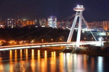 Novy bridge in Bratislava - Slovakia