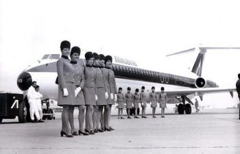 Alitalia 1969 fashion