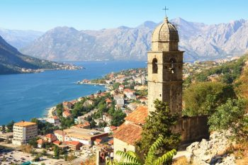 The old fortress of Kotor