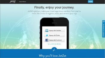 JetZet: On-the-go Travel Organizer