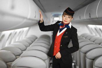 Belavia flight attendant