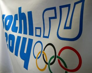 Sochi Olympic flag