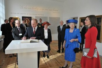 Putin and Queen Queen Beatrix