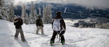 Snowboarders in Canada
