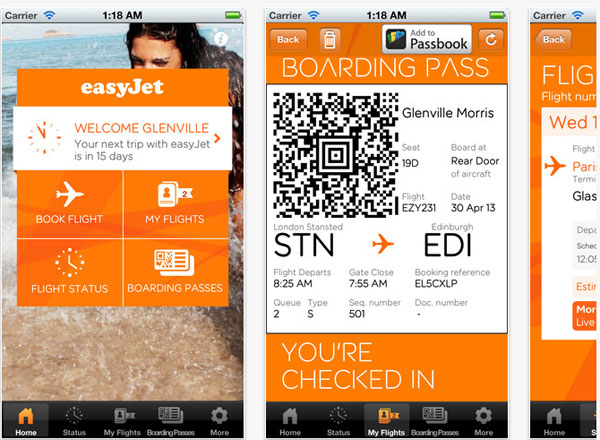 easyjet check in at glasgow airport