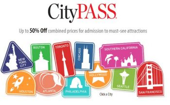 CityPASS landing page