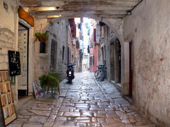 Croatia. Istria. Rovinj.