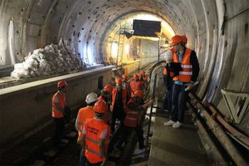 Marmaray Tunnel Links Asian and European Shores of Istanbul