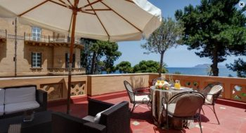Full size image of the Terrace Suite at the award winning Grand Hotel Villa Igiea