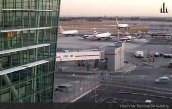 Heathrow Terminal 5A building