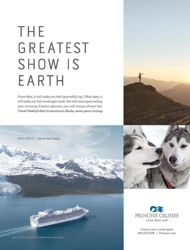 Princess Cruises Ad Campaign Shows How Cruising Can Enrich