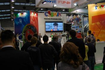 Serbia booth at ITB Berlin