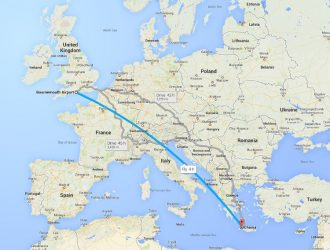 New Ryanair flights to Crete - Courtesy Google Maps