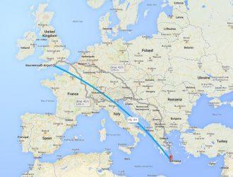 New Ryanair flights to Crete - Courtesy Google Maps