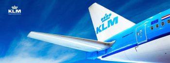 KLM Facebook banner