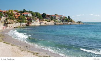 Beach on the Black Sea in Nessebar