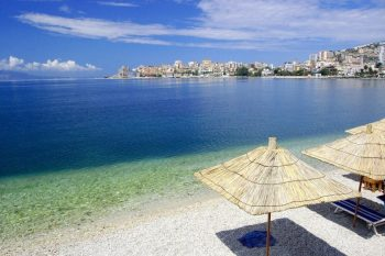 Beach at Saranda - Courtesy ZNZ