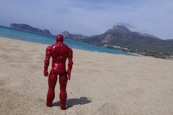 Ironman on Falasarna Beach