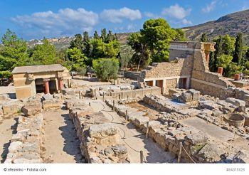 Knossos outside Heraklion