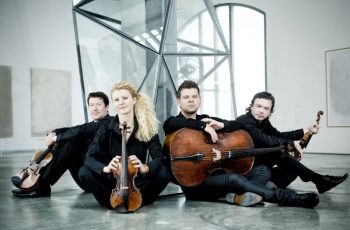Courtesy the Pavel Haas Quartet