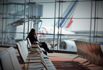 Waiting - Courtesy Air France Facebook