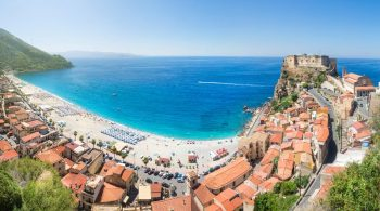 Panoramic view over Scilla Italy by © mRGB