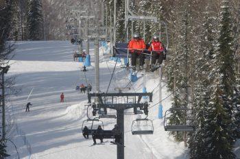 Alpine skiing in Krasnaya Polyana