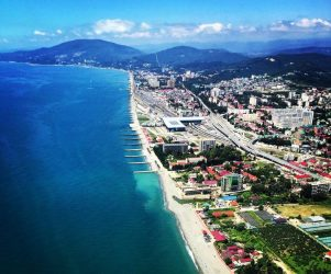 Aerial view of Sochi (Our Russia)