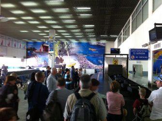 Heraklion Airport on Crete