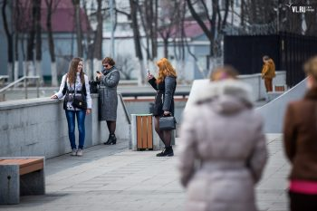Friends sharing the first photos of Spring 2016 (News Vladivostok)