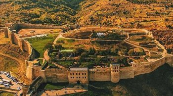 Naryn-Kala fortress in Derbent